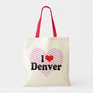 I Love Denver Budget Tote Bag