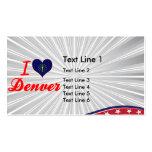 I Love Denver, Indiana Business Cards