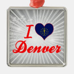 I Love Denver, Indiana Christmas Tree Ornament