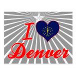 I Love Denver, Indiana Post Card
