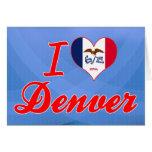 I Love Denver, Iowa Greeting Cards