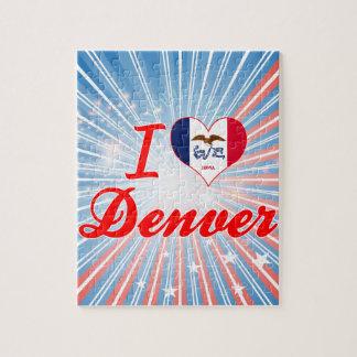 I Love Denver, Iowa Puzzle