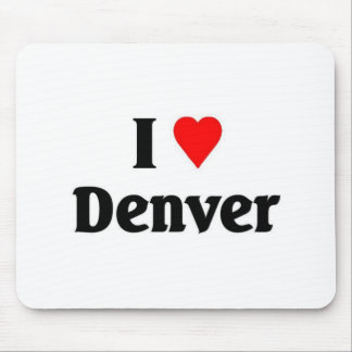 I love Denver Mouse Pad