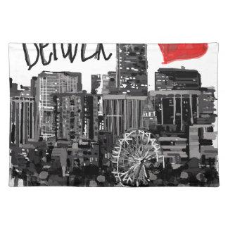 I love Denver Placemat