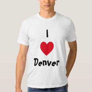 I Love Denver Shirts