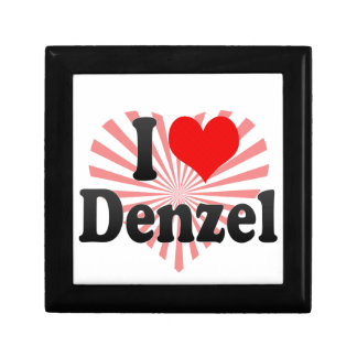 I love Denzel Jewelry Boxes