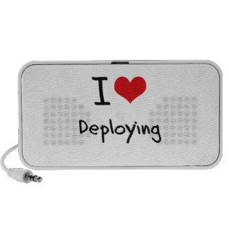 I Love Deploying iPod Speakers