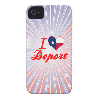 I Love Deport, Texas iPhone 4 Cases