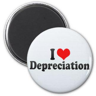 I Love Depreciation Fridge Magnets