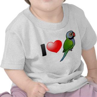 I Love Derbyan Parakeets Tshirt