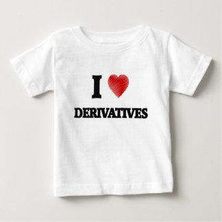 I love Derivatives Baby T-Shirt