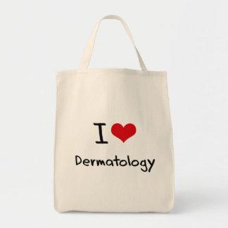 I Love Dermatology Tote Bag