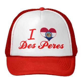 I Love Des Peres, Missouri Trucker Hat