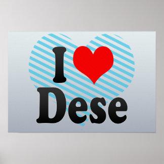 I Love Dese, Ethiopia Print