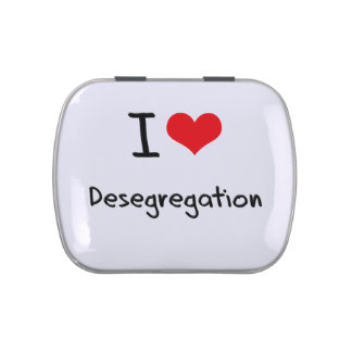 I Love Desegregation Jelly Belly Candy Tin