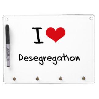 I Love Desegregation Dry Erase Whiteboards