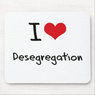 I Love Desegregation Mousepads