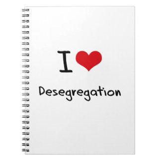 I Love Desegregation Spiral Notebook