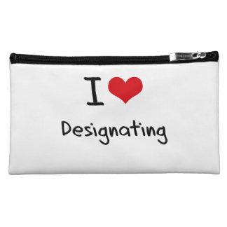 I Love Designating Cosmetic Bag