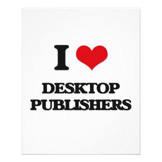 I love Desktop Publishers Custom Flyer