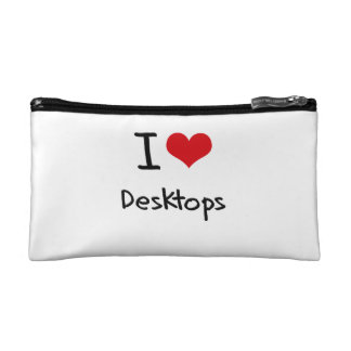 I Love Desktops Makeup Bag