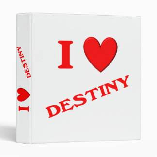 I Love Destiny Binder