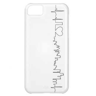 I love Detroit in an extraordinary ecg style iPhone 5C Cover