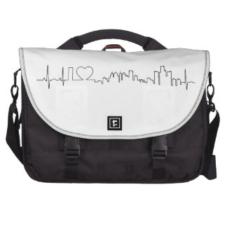 I love Detroit in an extraordinary ecg style Bag For Laptop
