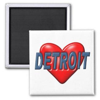 I Love Detroit Magnet