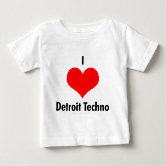 I love detroit techno baby T-Shirt