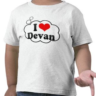 I love Devan Tee Shirt