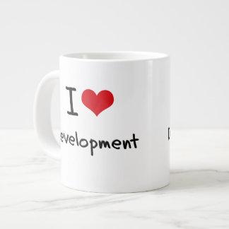 I Love Development Extra Large Mug