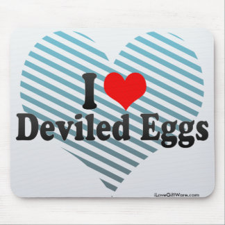 I Love Deviled Eggs Mouse Pad