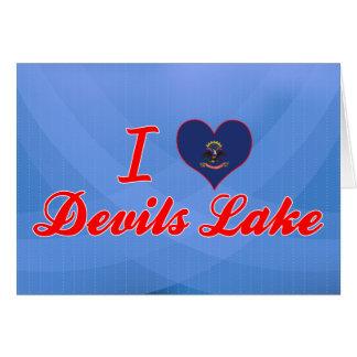 I Love Devils Lake, North Dakota Greeting Card