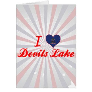 I Love Devils Lake, North Dakota Cards
