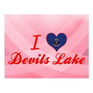 I Love Devils Lake, North Dakota Postcard