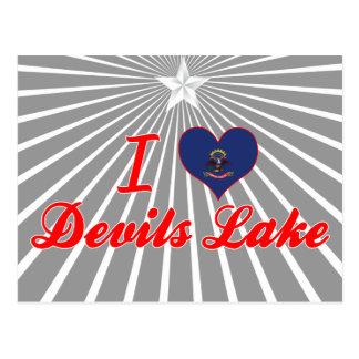 I Love Devils Lake, North Dakota Post Cards