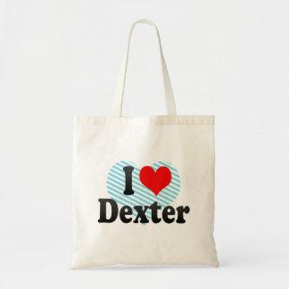 I love Dexter Budget Tote Bag