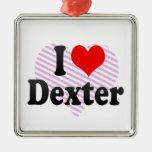 I love Dexter Christmas Ornaments