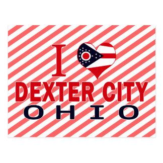 I love Dexter City, Ohio Post Cards