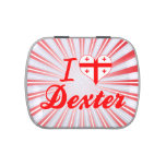 I Love Dexter, Georgia Jelly Belly Candy Tin