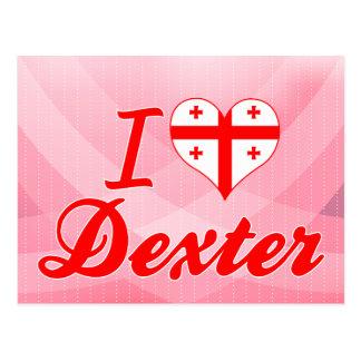 I Love Dexter, Georgia Post Cards