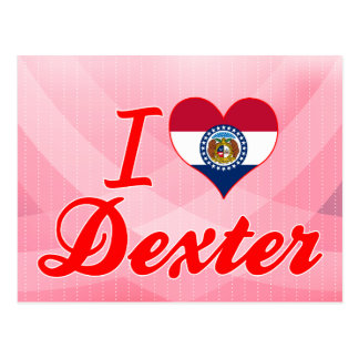 I Love Dexter, Missouri Postcard