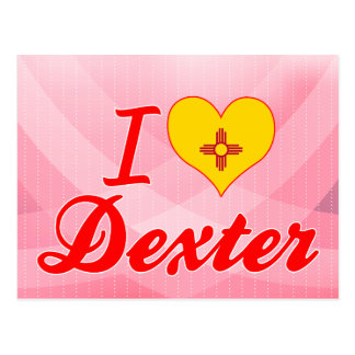 I Love Dexter, New Mexico Post Card
