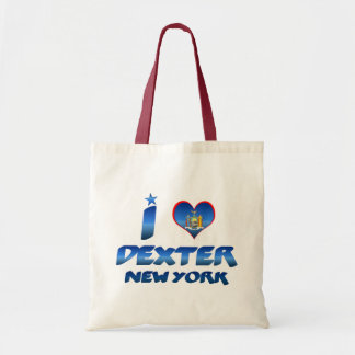 I love Dexter, New York Budget Tote Bag