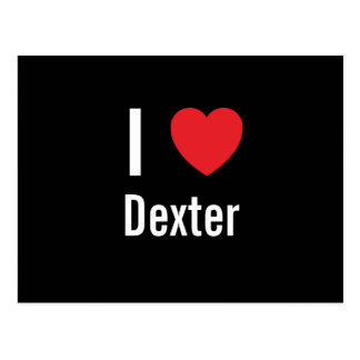 I love Dexter Post Cards