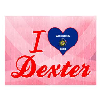 I Love Dexter, Wisconsin Postcard