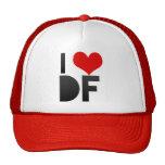 I Love DF Mesh Hats