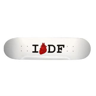 I Love DF Skateboard