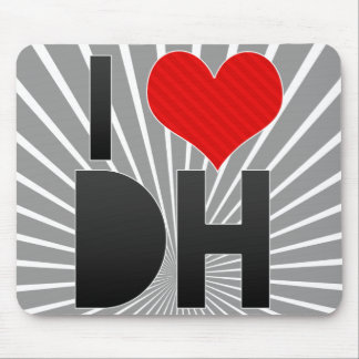 I Love DH Mouse Pad